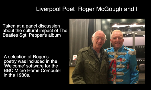 Roger McGough with Ian M Lindsay